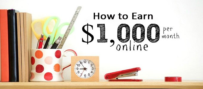 Can I Make $1000 per Month Online