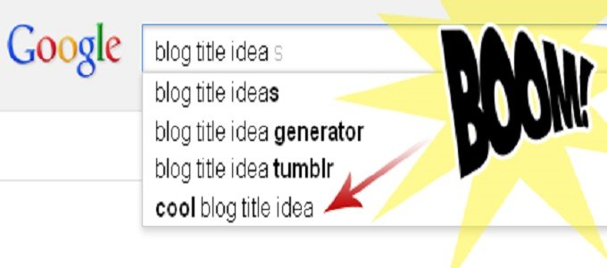 Great Blog Titles Ideas