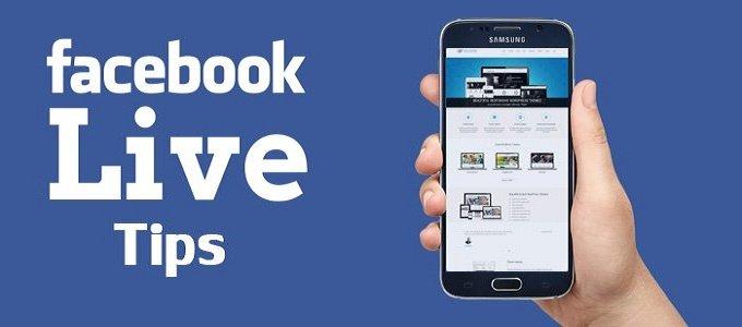 Facebook Live Tips