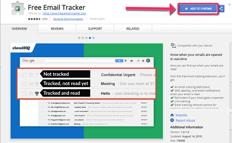 Free Email Tracker For Gmail