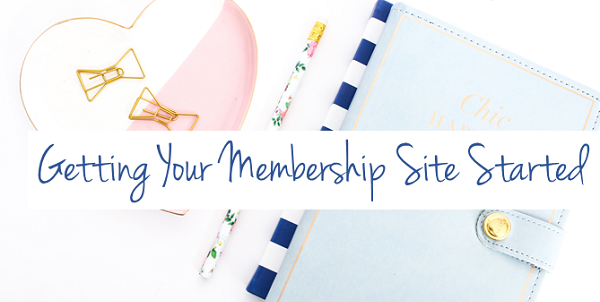 Planning Your Membership Site