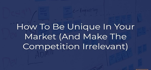 Your Business Competition Is Irrelevant
