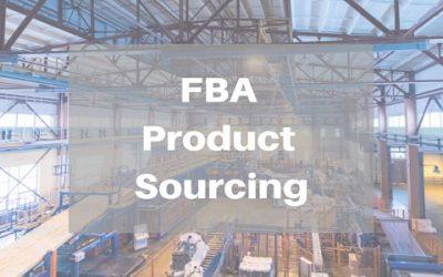 Sourcing Amazon FBA Products