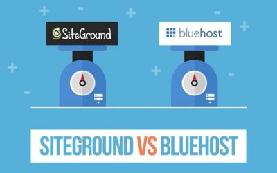 Bluehost vs SiteGround Review