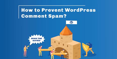 Stop WordPress Comment Spam